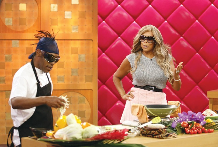 Wendy Williams and Coolio