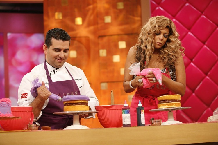 Wendy Williams with Buddy Valastro