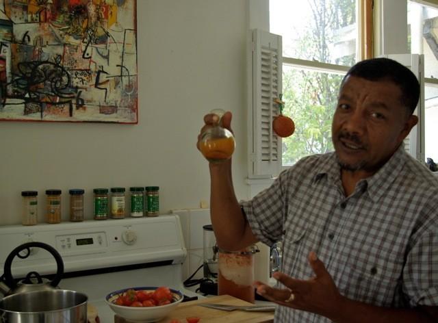 Wosene Kosrof, Ethiopian artist