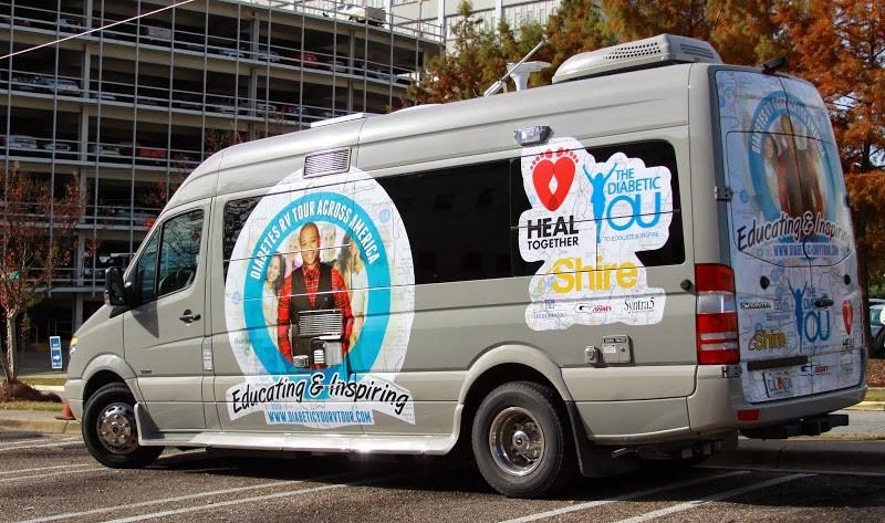 The Diabetic You Tour Van