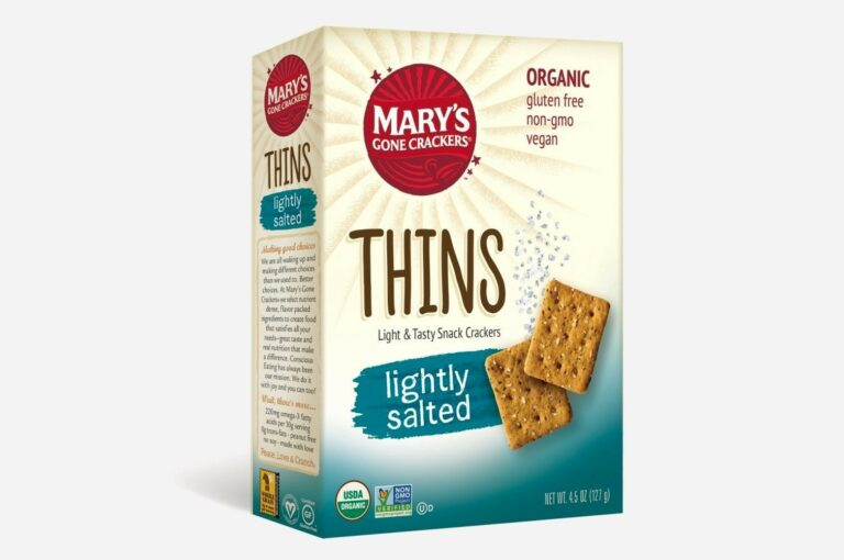 Mary's Gone Crackers Thins and Minis