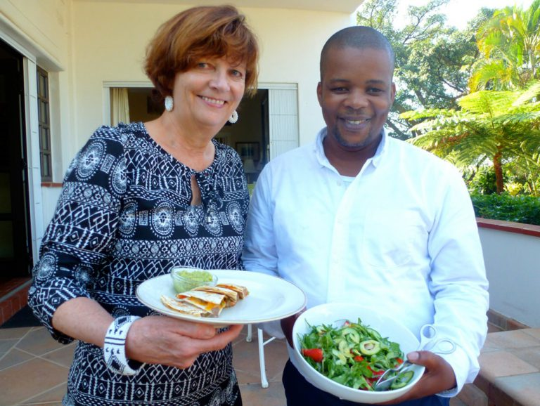 Stars, Stripes and U.S. Consular Chef Sandile Ngcobo Cooks in Durban