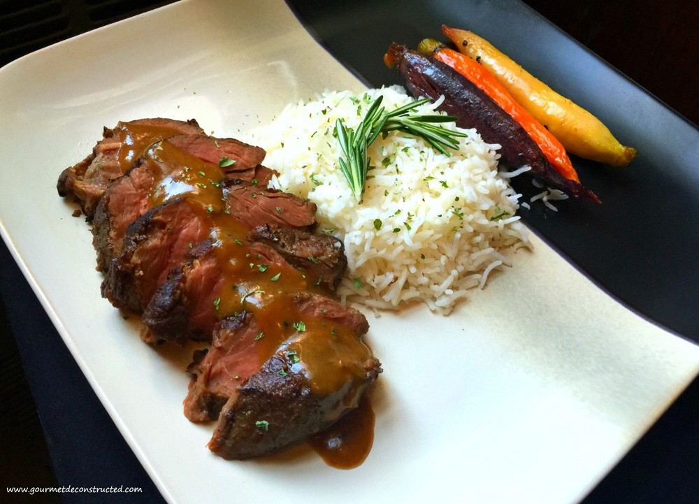 Kangaroo by Chef Justice Stewart of Gourmet Decontructed