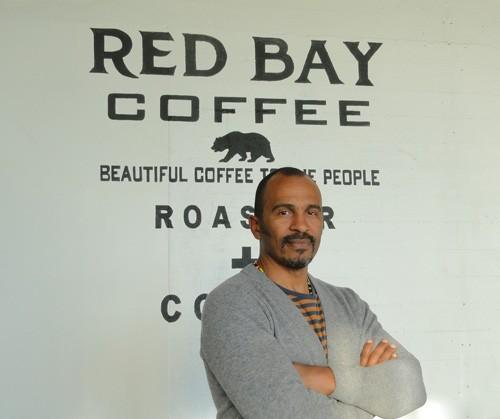 Kebe Konte, owner of Red Bay Coffee