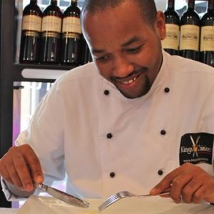 South African chef Themba Mngoma
