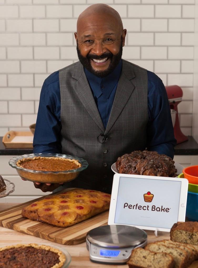 Producer Rushion McDonald with Perfect Bake