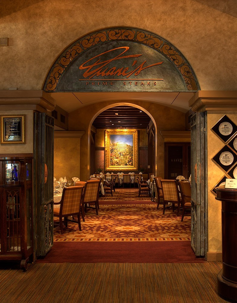 Duane's Steakhouse and Seafood in The Mission Inn in Riverside, CA