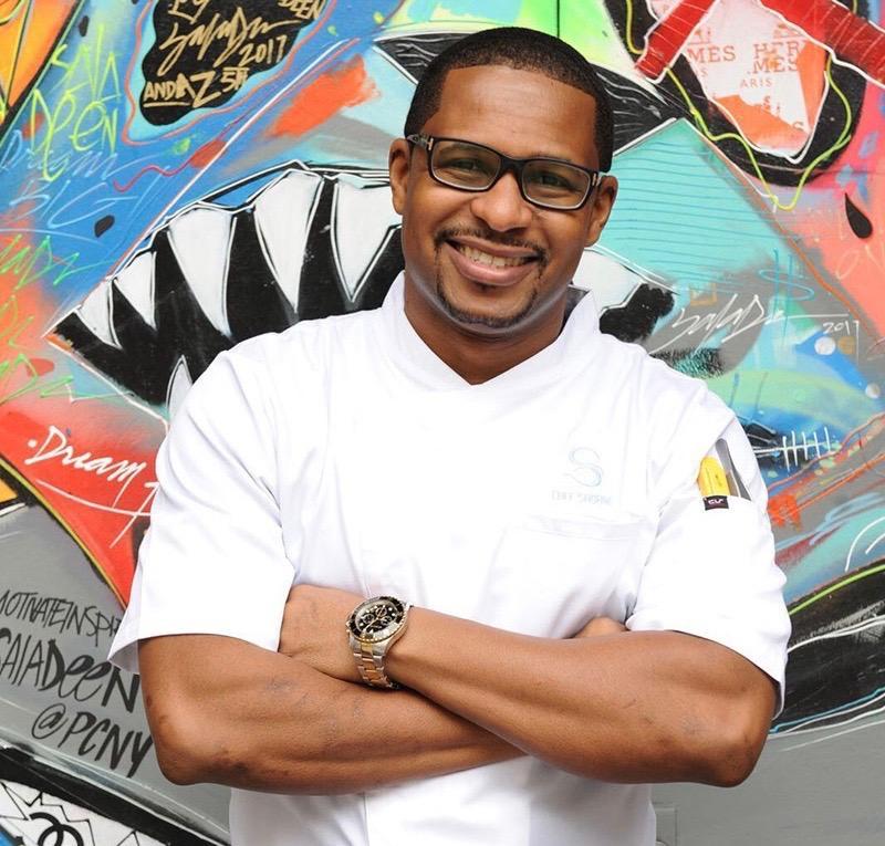 Chef Shorne Benjamin of St. Lucia