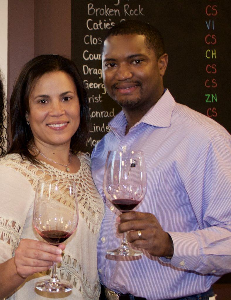 Dawna and Chauncey Jones of Darjean Jones Wines