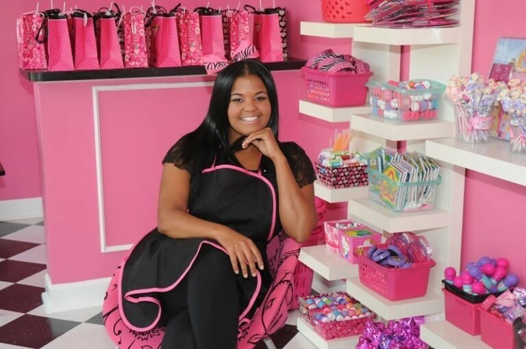 Tiffany Young, owner of the Pink Pastry Parlor