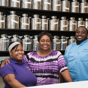 Blanch Henry and Family of Serenity Tearoom & Fine Dining in Maryland
