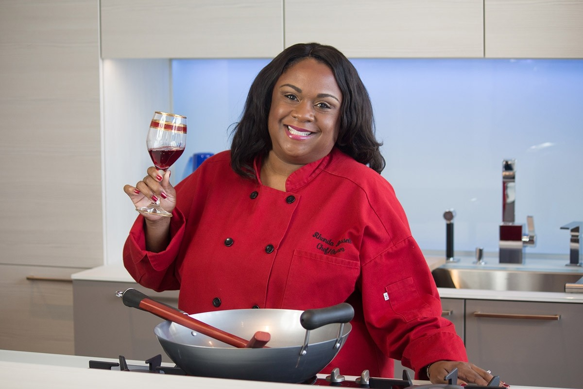Rhonda Russell, owner of Taste Collection Cellars