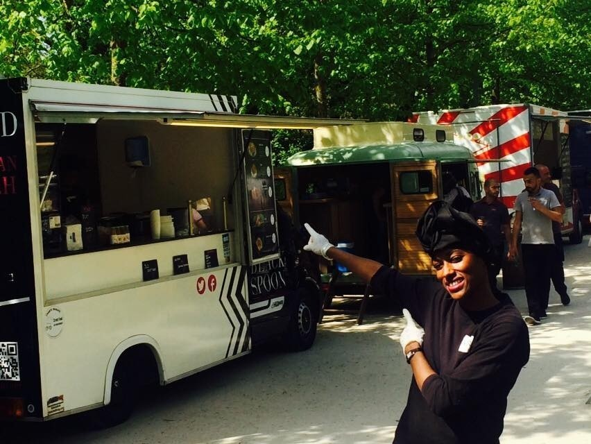 Fati Niang of Black Spoon in Paris