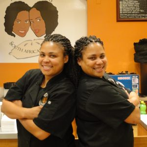 Wendy and Pam Drew of Amawele's South African Kitchen in San Francisco