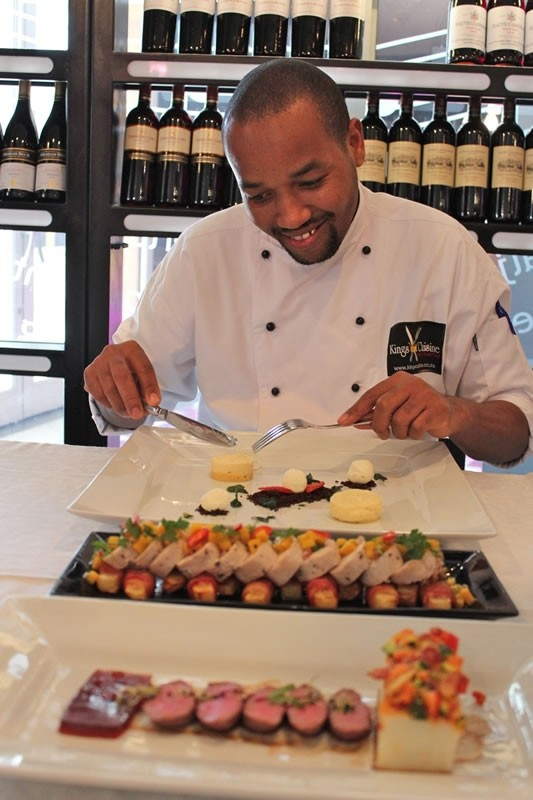 Hot Tips For At-Home Entertaining From South African Warrior Chef Themba Mngoma