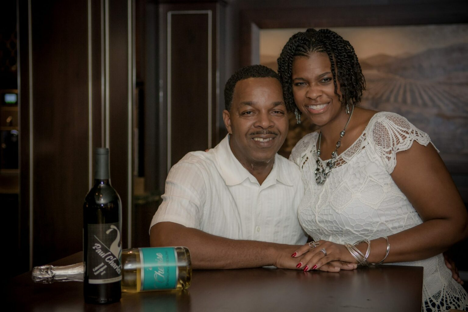 Paul and Cherisse Charles of Charles Wine Co.