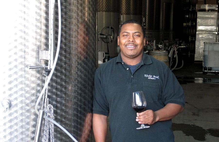 Winemaker Joseph Smith