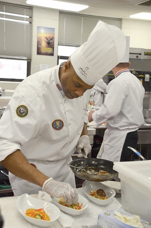 Saluting an Armed Forces Top Chef: Culinary Competition Forges Talent in Military Kitchens