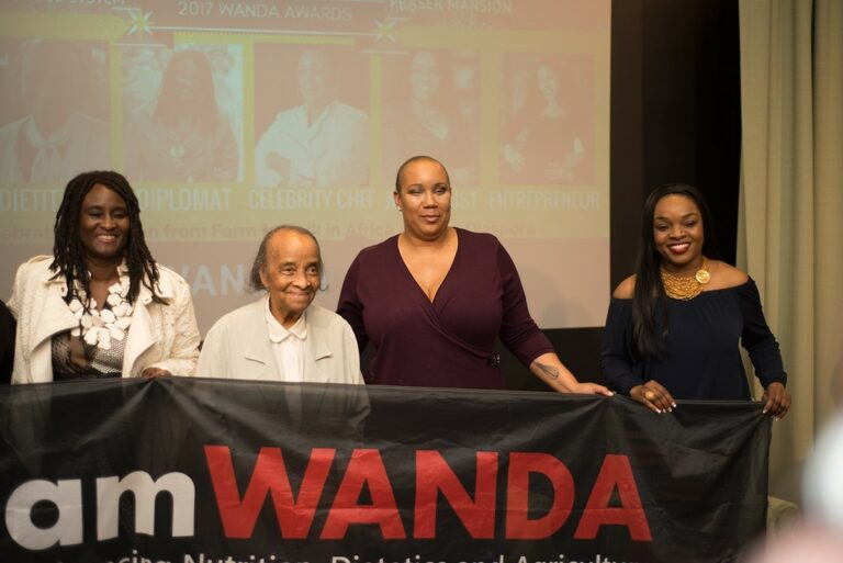 WANDA Honors #HiddenFigures in the Food System