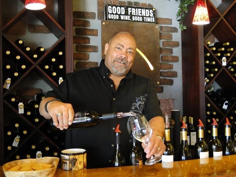 Owner and winemaker Phil Long of Longevity Wines