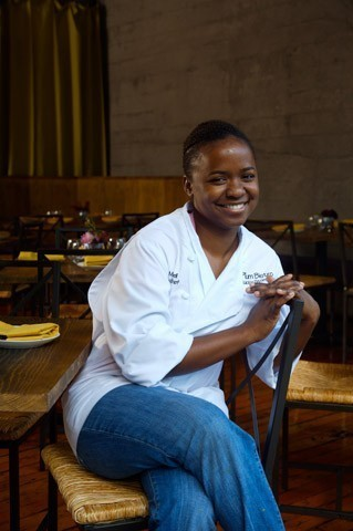 Chef Makini Howell of Plum Bistro in Seattle