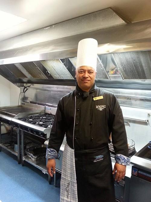Chef Erueti Tutaki