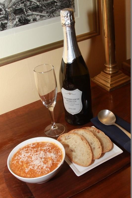 Chilled Zucchini Parmesan Soup by Wilbert Jones
