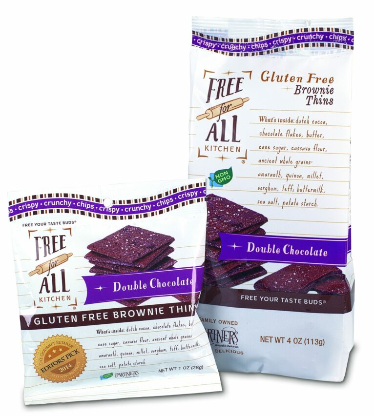 PARTNERS Gluten-Free Double Chocolate Brownie Thins