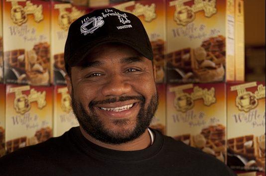 Marcus Davis of the Breakfast Klub