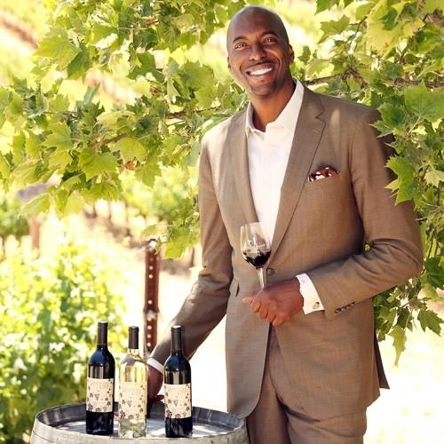 Walking the Vegan Wine Walk with John Salley