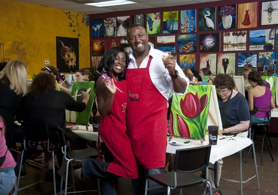 Couple Survives Hurricane Katrina and Rebounds with Painting with a Twist Business