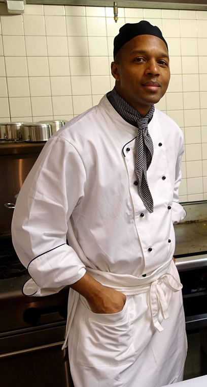Darnell Reed, owner of Luella's Southern Kitchen in Chicago