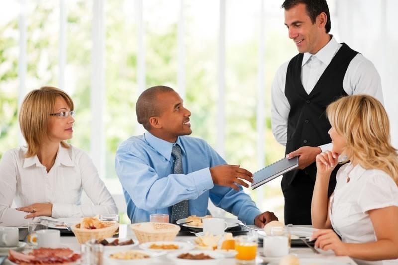 Business Meal Etiquette