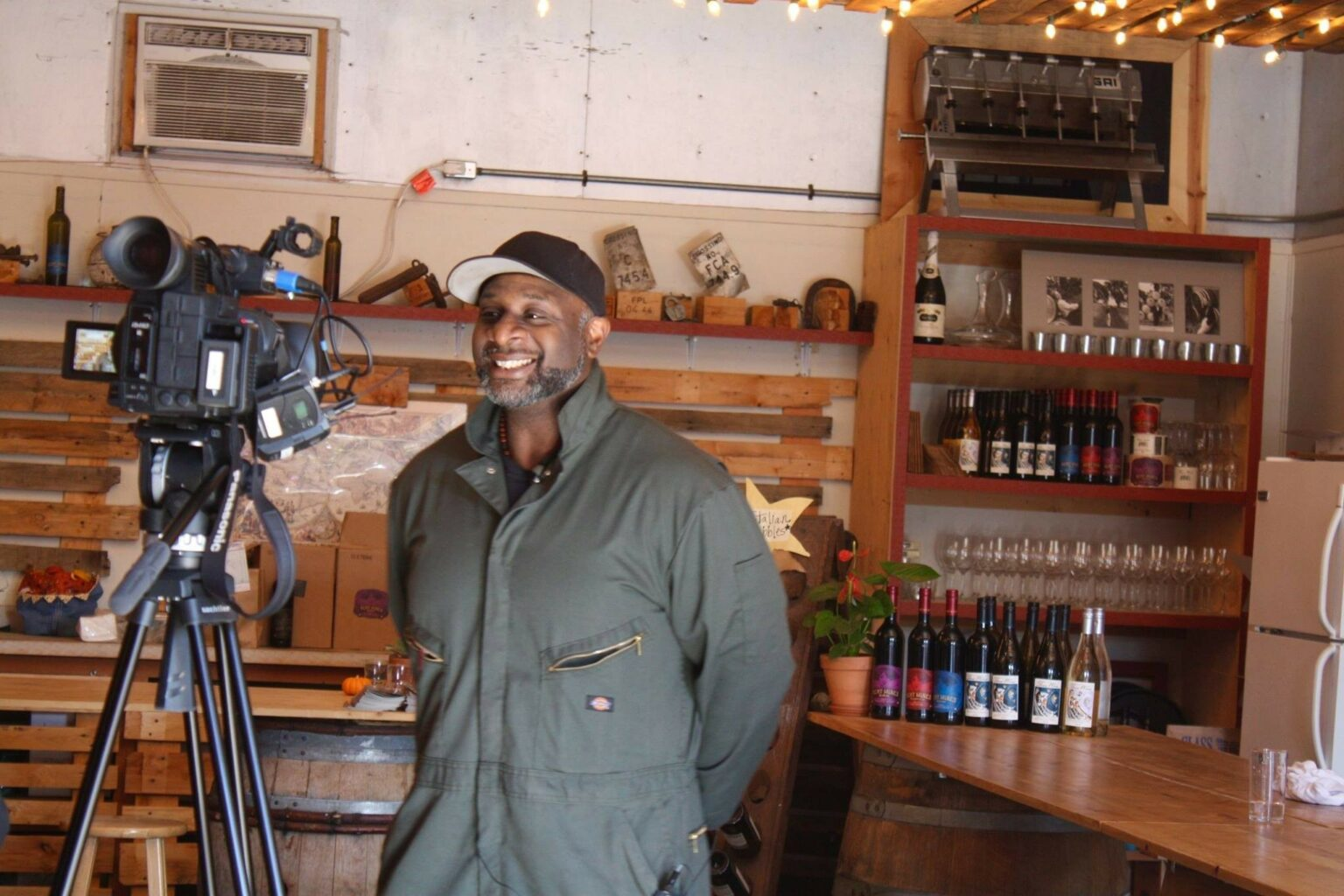 Bertony Faustin of Abbey Creek Vineyards in Oregon