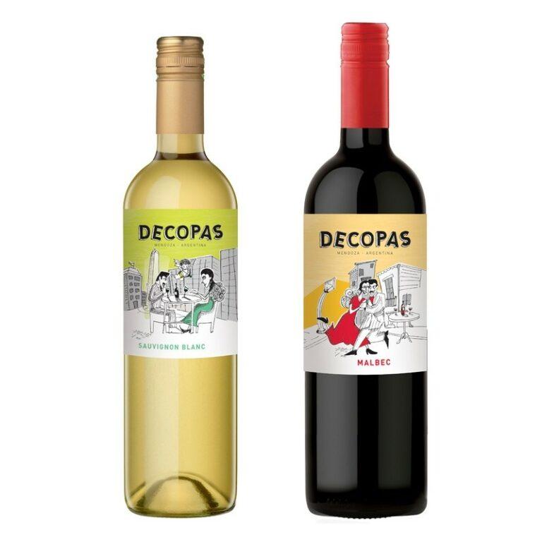 Argentina's Decopas Malbec and Sauvignon Blanc Wines