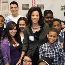 N.Y.'s First Lady Wants a Generation of Healthy Children