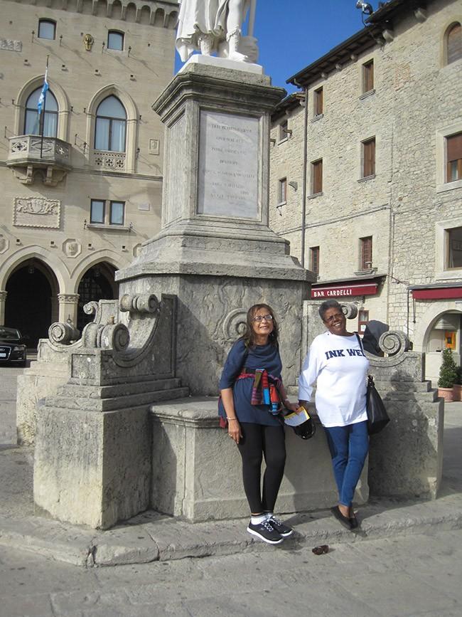Girls trip to golden tuscany cuisine noir magazine - Adler bagno vignoni day spa ...