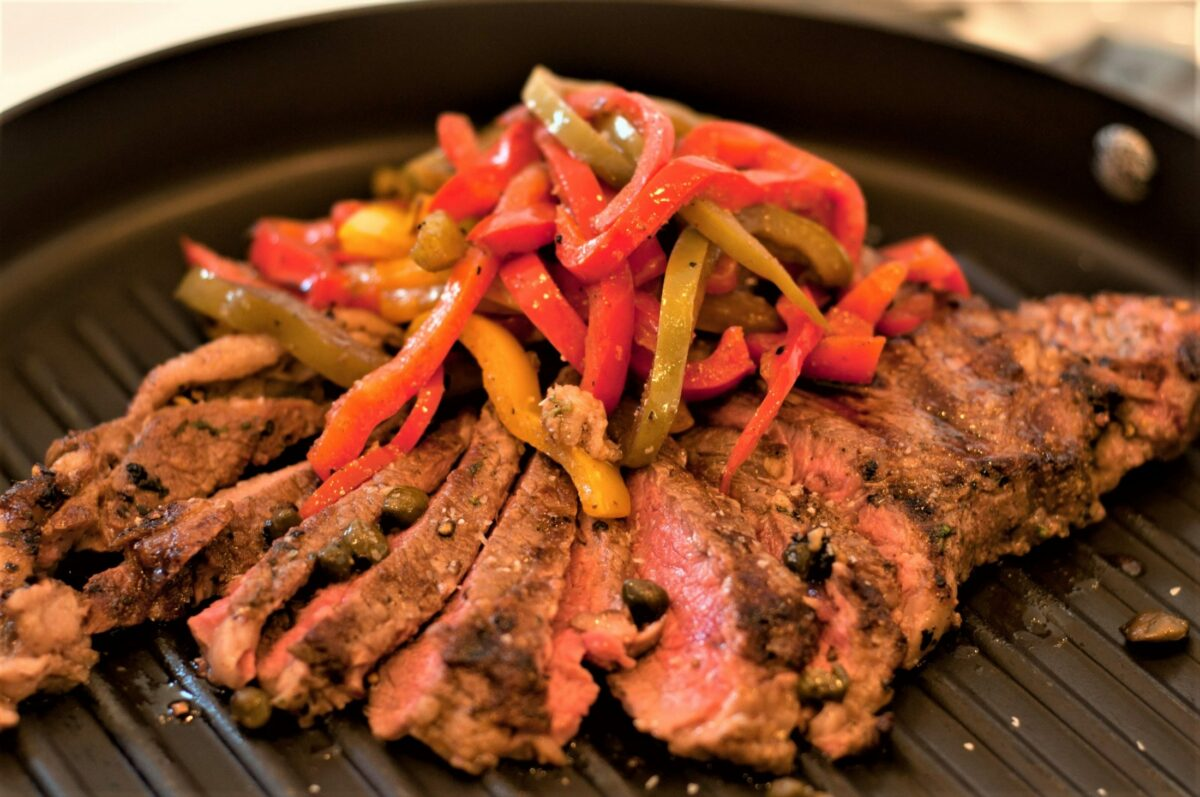 Chi Town Steak with Peppers