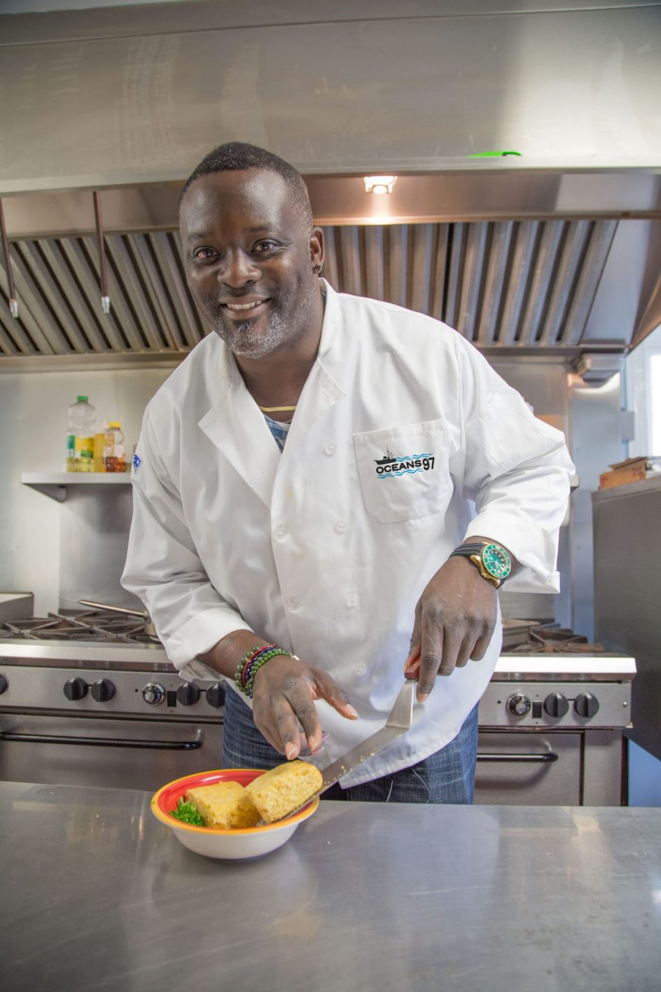 Former NFL Star Jarvis Green Tackles Culinary Industry with Ocean 97 Brand