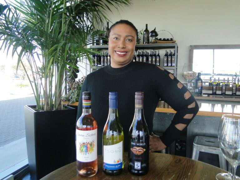The Wine Noire founder Alicia Maria