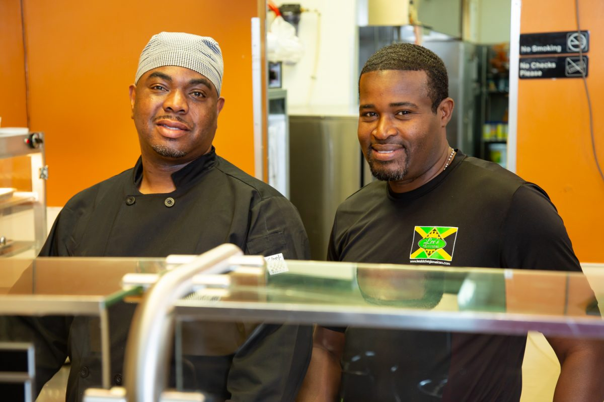 Peter Ellison and Charles Burgess, co-owners of Lee's Kitchen in Raleigh, N.C.