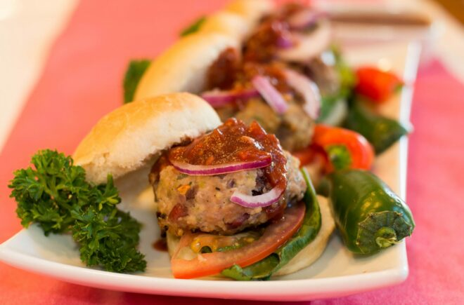 Spicy Turkey Sliders