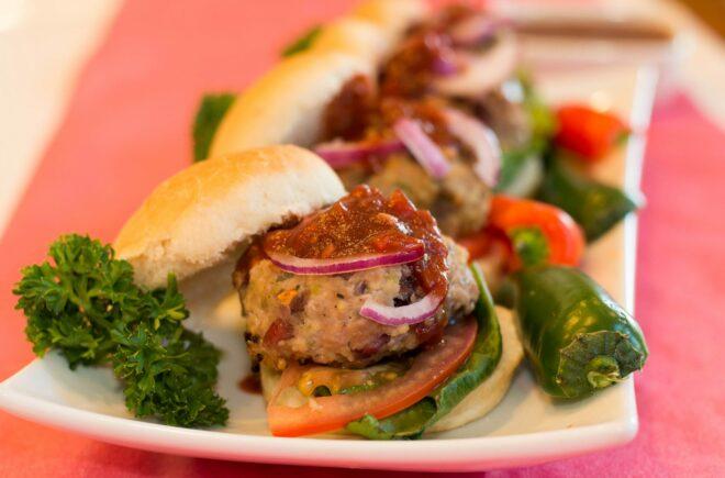 Spicy Turkey Sliders