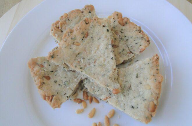 Savory Tuscan Pine Nut Shortbread