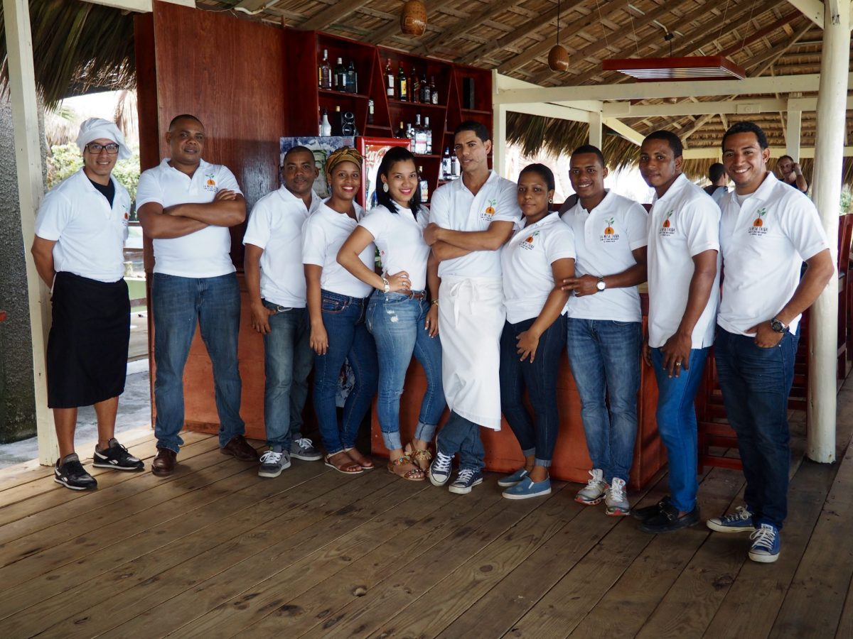 Staff team at eXtreme Hotel in the Dominican Republic