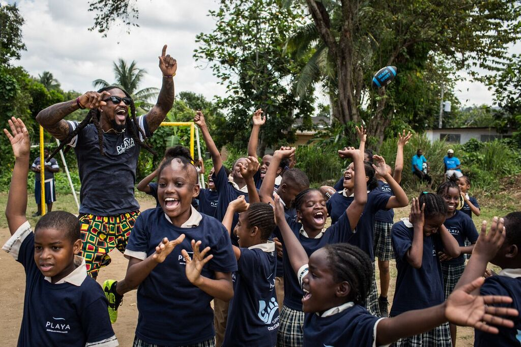 Children of the Granville 404 Project in Jamaica