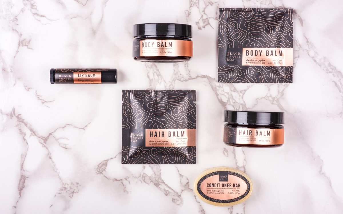 The Black Travel Box products