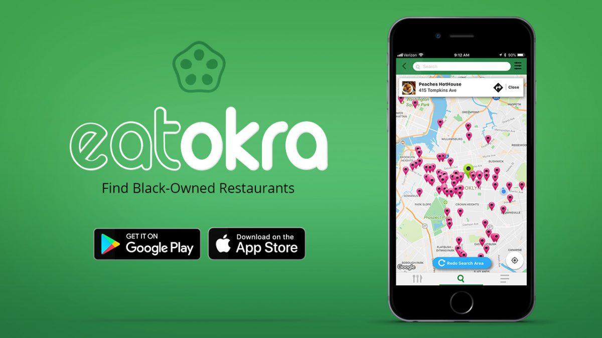 EatOkra App for Black Restaurants