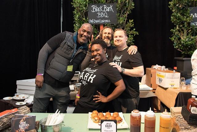 David Lawrence and team of Black Bark at Eat Drink SF