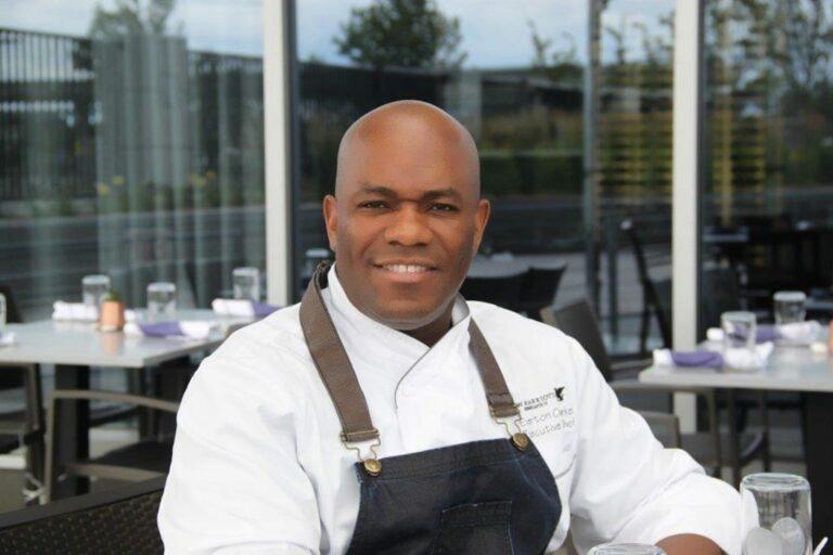 Chef Everett Clarke of the Marriott in MIninesota